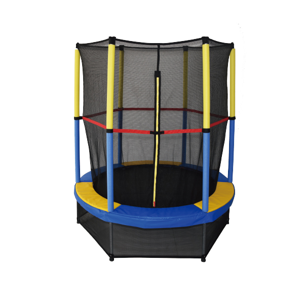Mini Trampoline with Enclosure A
