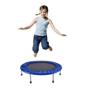 Non folding mini trampoline